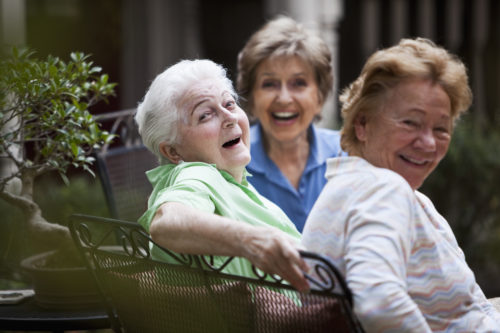 Socialization in the Elderly - memory care baltimore