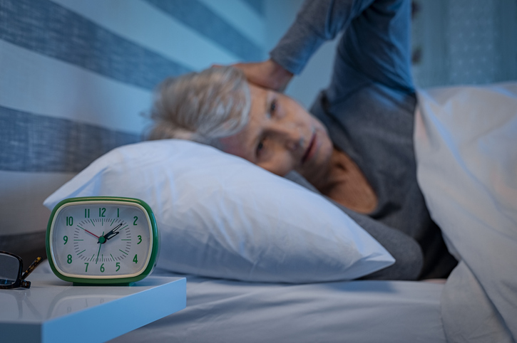 home care services towson md - senior sleep issues