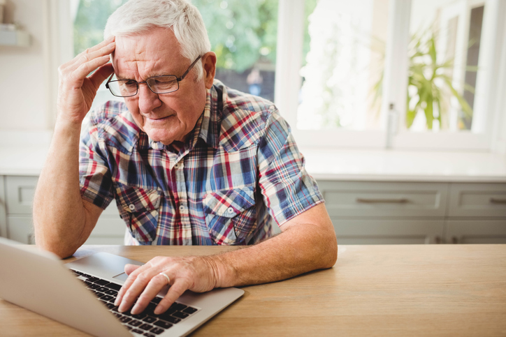 senior internet scams - in home care towson