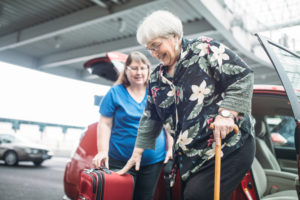 Bel Air Home care - travel with a senior