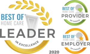 Home Care Pulse Leader in Excellence 2020, Provider of Choice and Employer of Choice