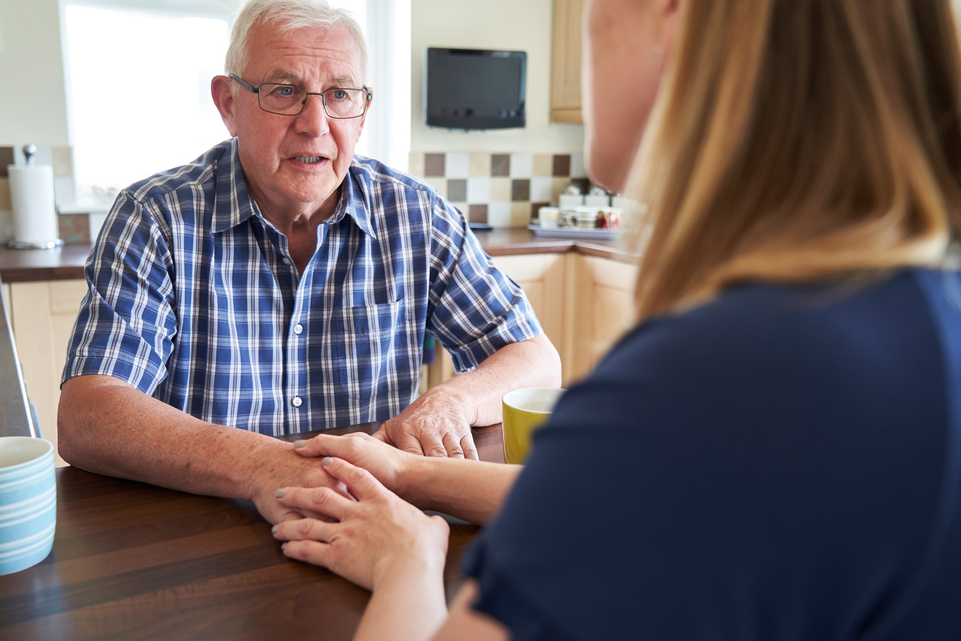 care planning with elderly parent