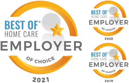 Home Care Pulse - Employer of Choice 2021, 2020 and 2019