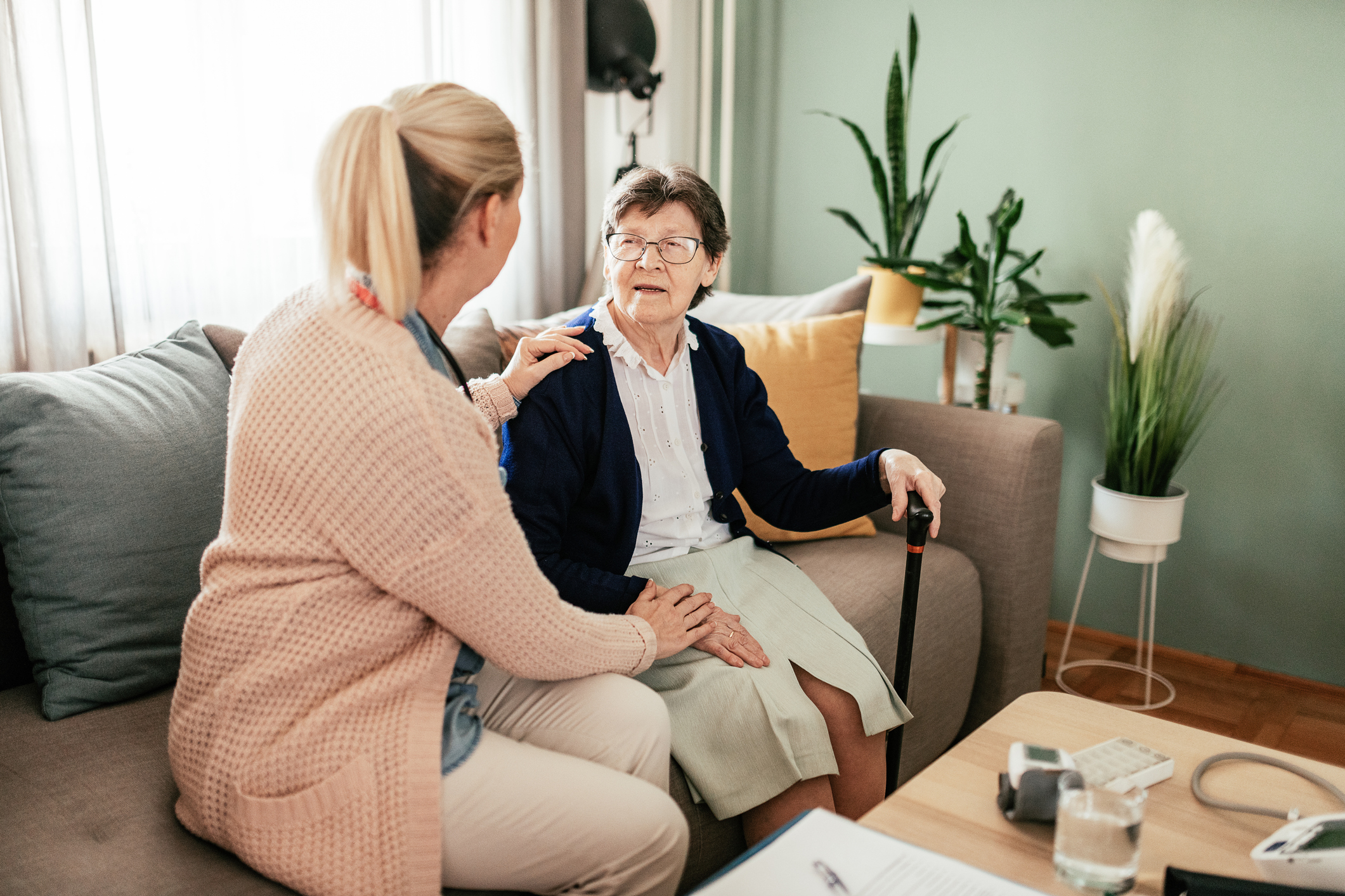 Manage long-term illness with in-home care.