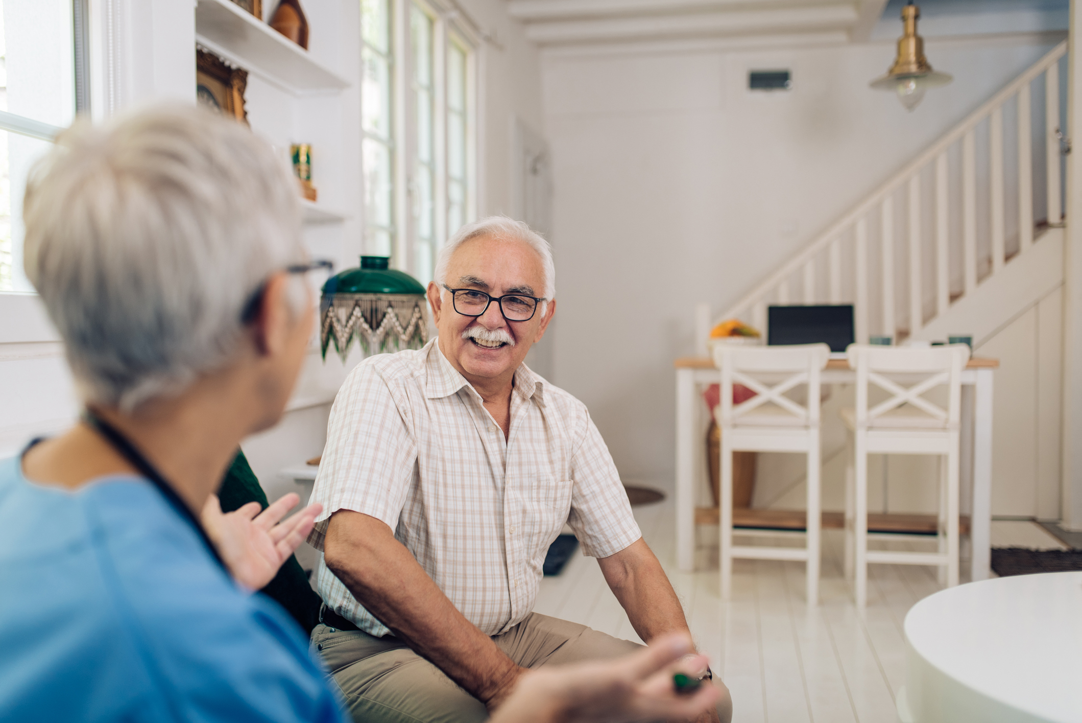 If you're caring for elderly parents, scheduling an in-home care consultation can help.